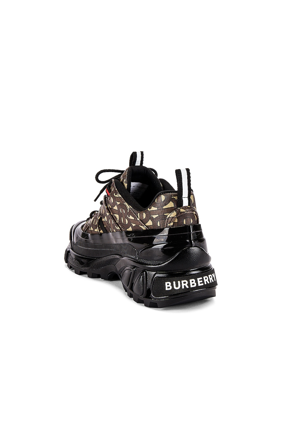 Image 3 of Burberry Arthur Sneaker in Bridle Brown