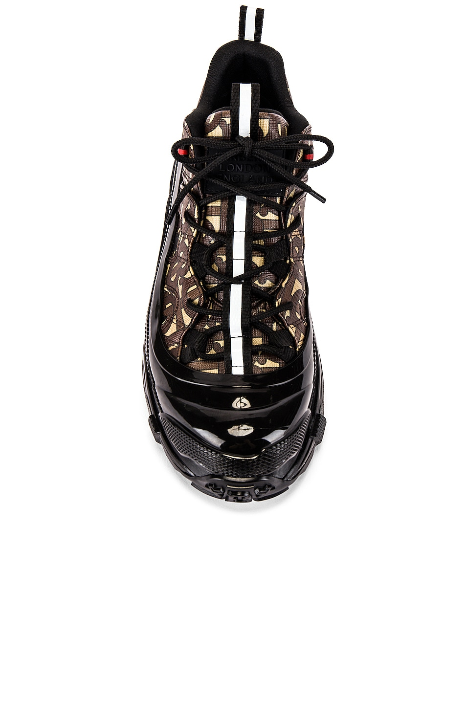 Image 4 of Burberry Arthur Sneaker in Bridle Brown
