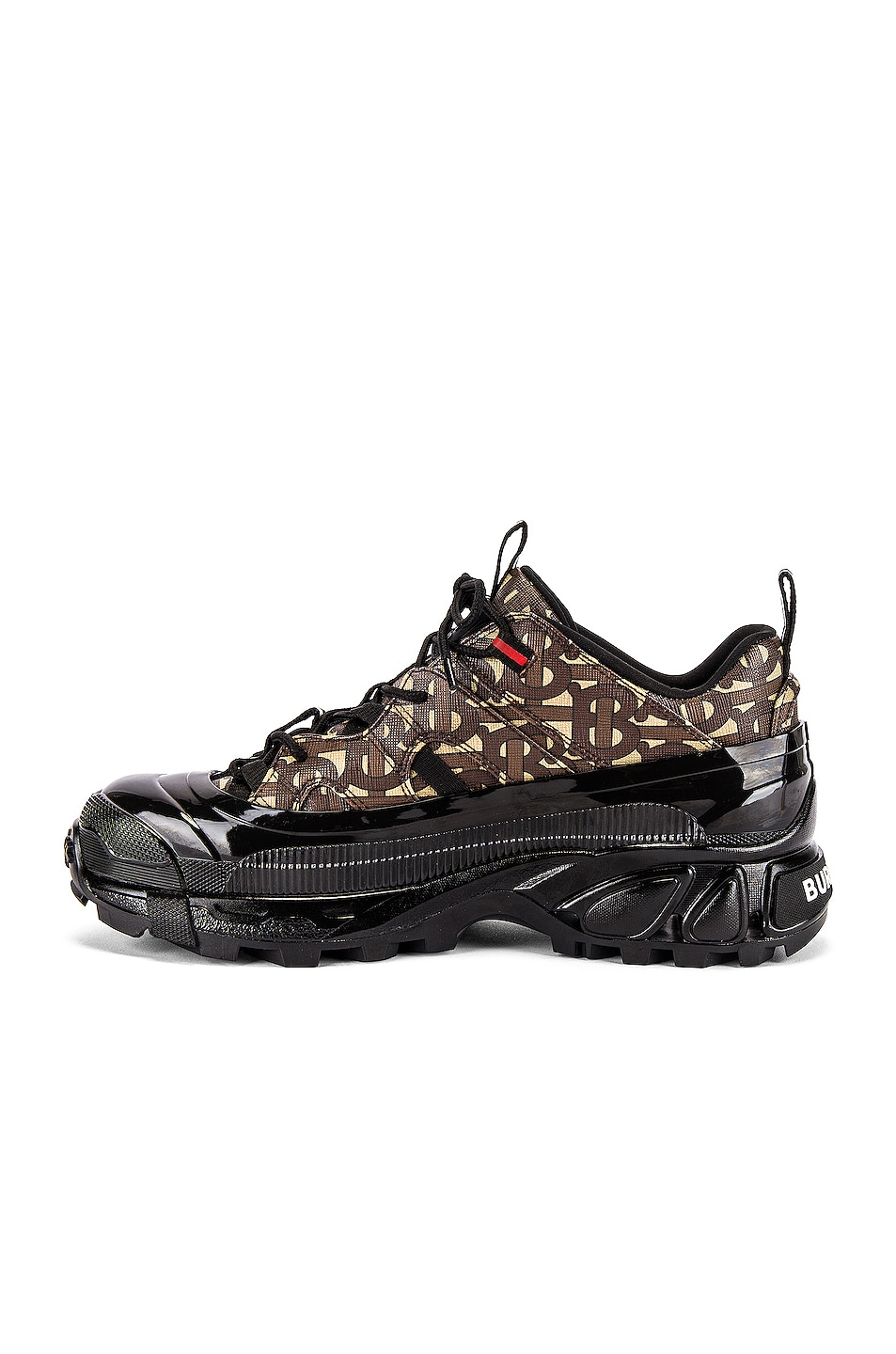 Image 5 of Burberry Arthur Sneaker in Bridle Brown
