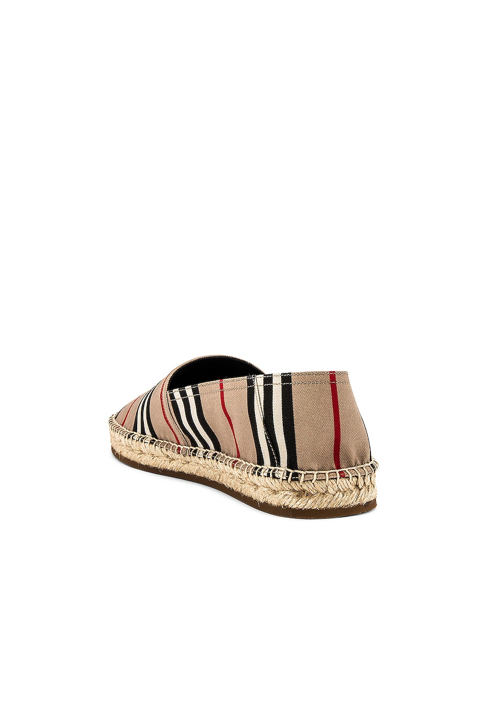 Image 3 of Burberry Alport Icon Espadrille in Archive Beige
