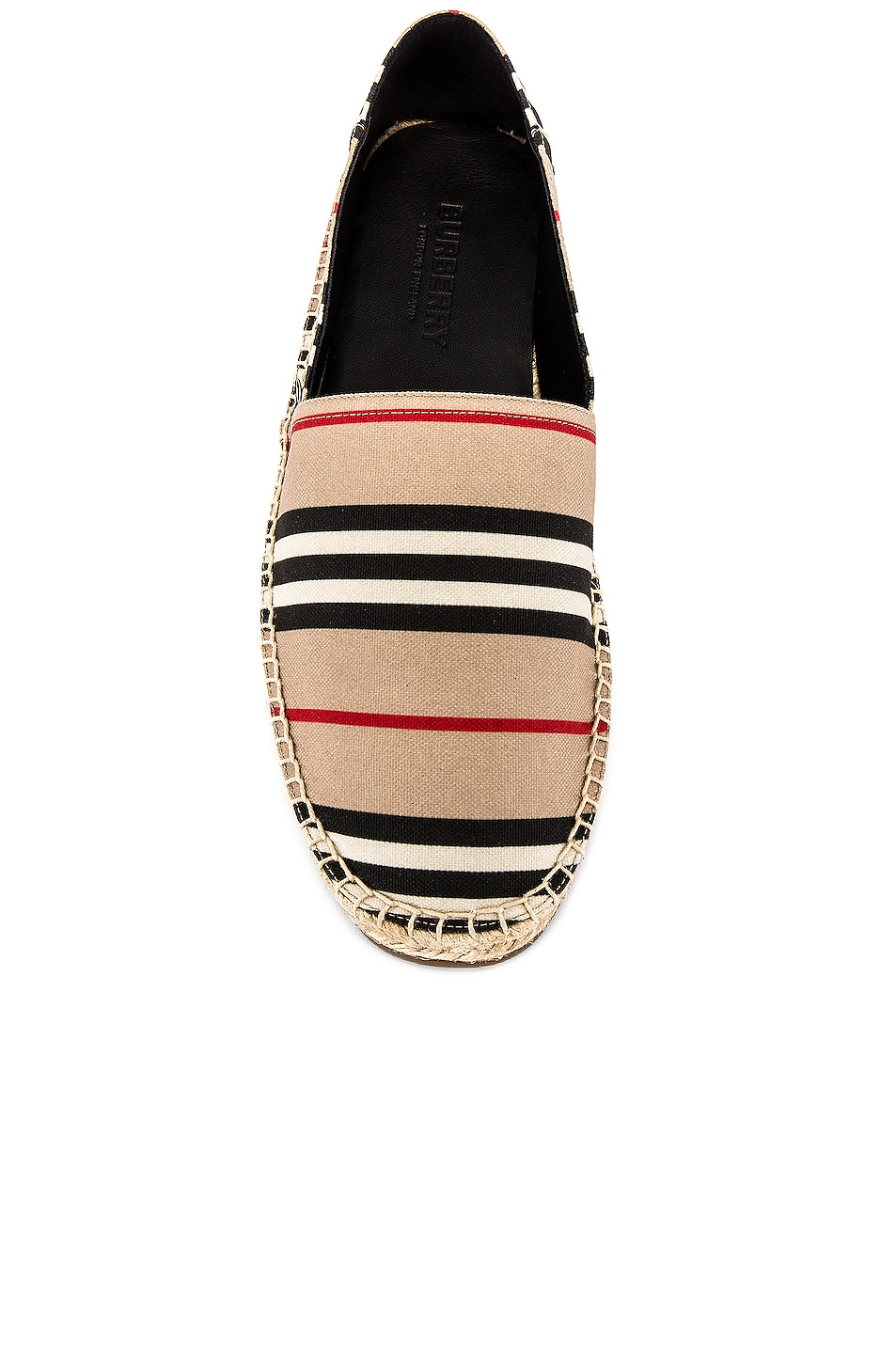 Image 4 of Burberry Alport Icon Espadrille in Archive Beige