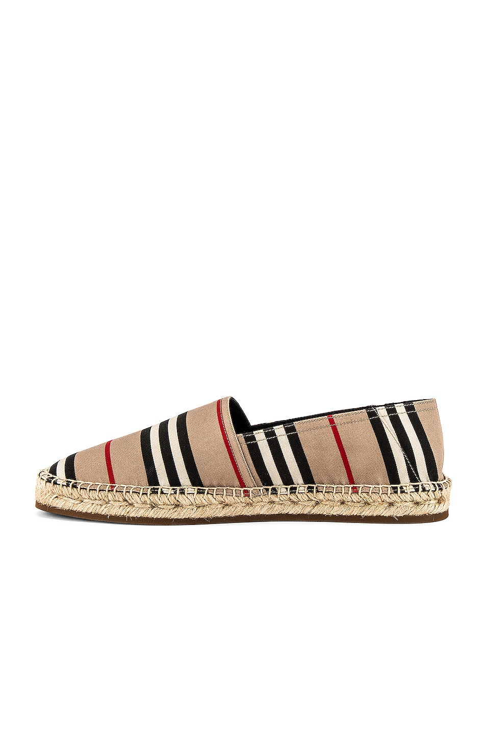 Image 5 of Burberry Alport Icon Espadrille in Archive Beige