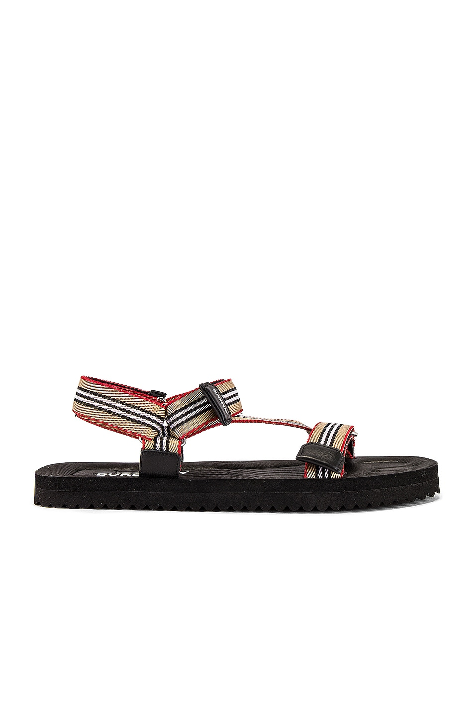 Image 1 of Burberry Patterson Webbing Sandal in Archive Beige