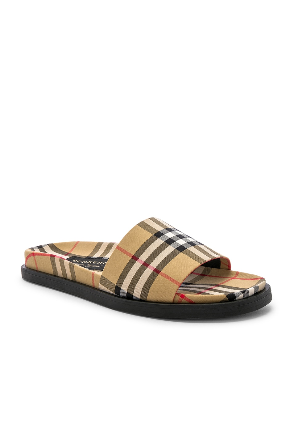 Image 1 of Burberry Sandal in Antique Yellow