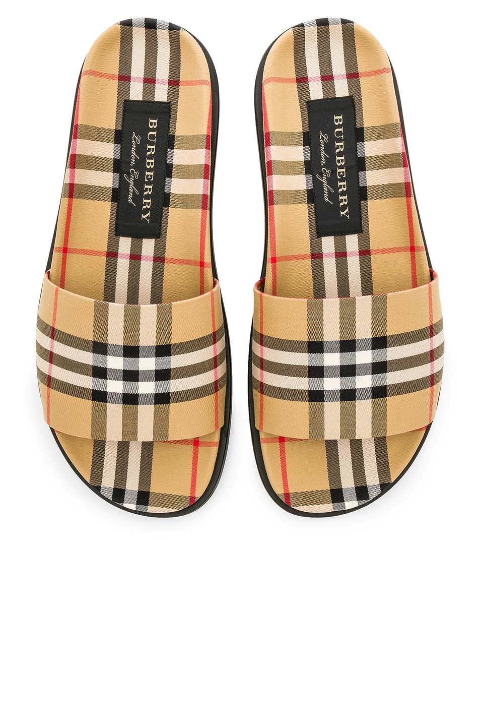 Image 5 of Burberry Sandal in Antique Yellow