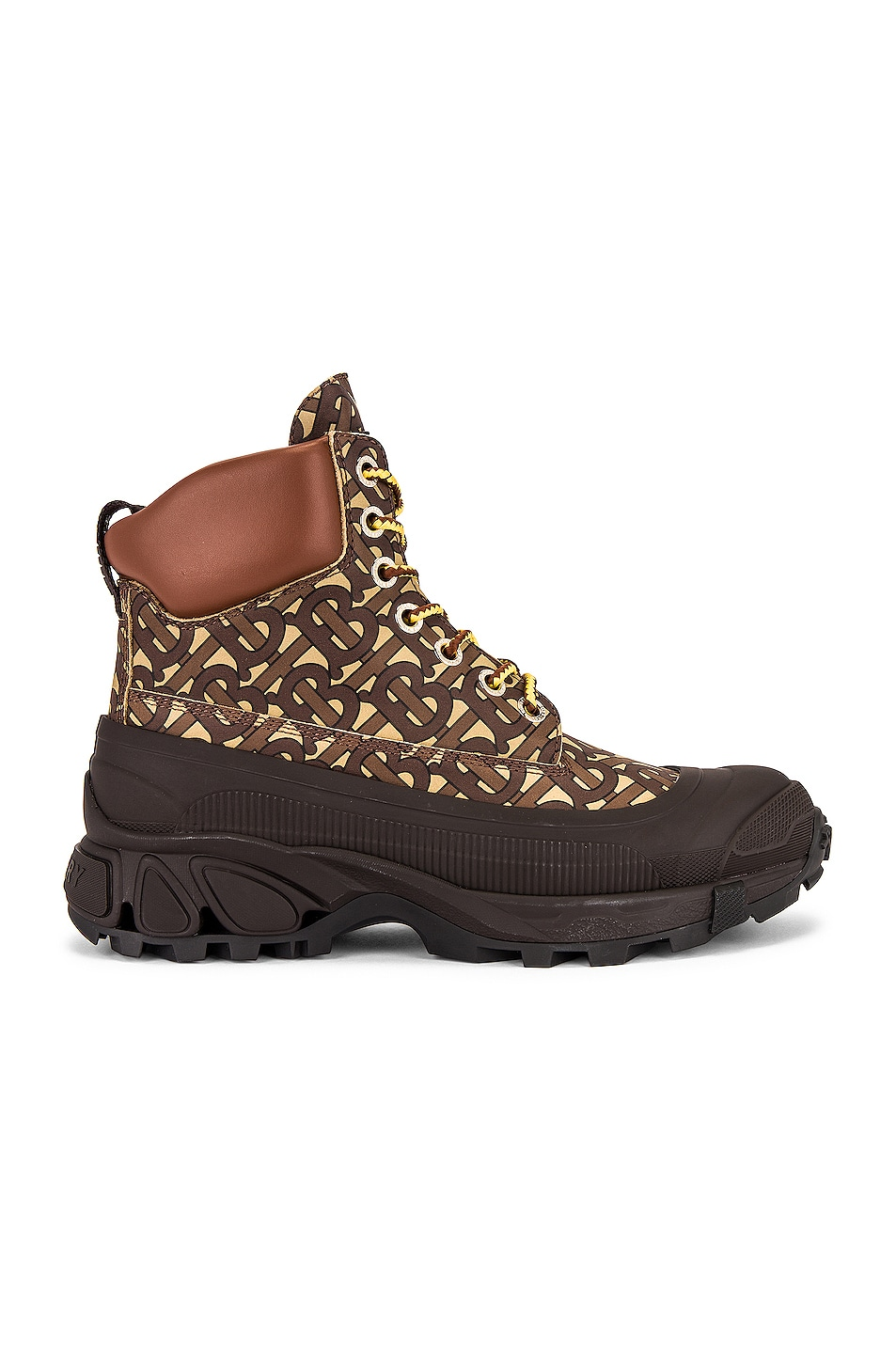 Image 1 of Burberry Arthur Hiking Boot in Bridle Brown