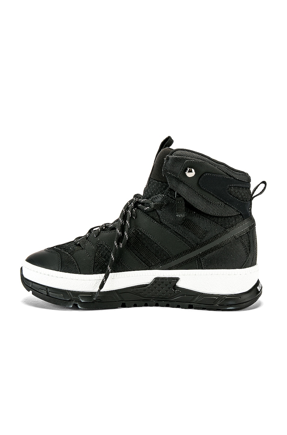 Image 5 of Burberry RS5 High C Sneaker in Black