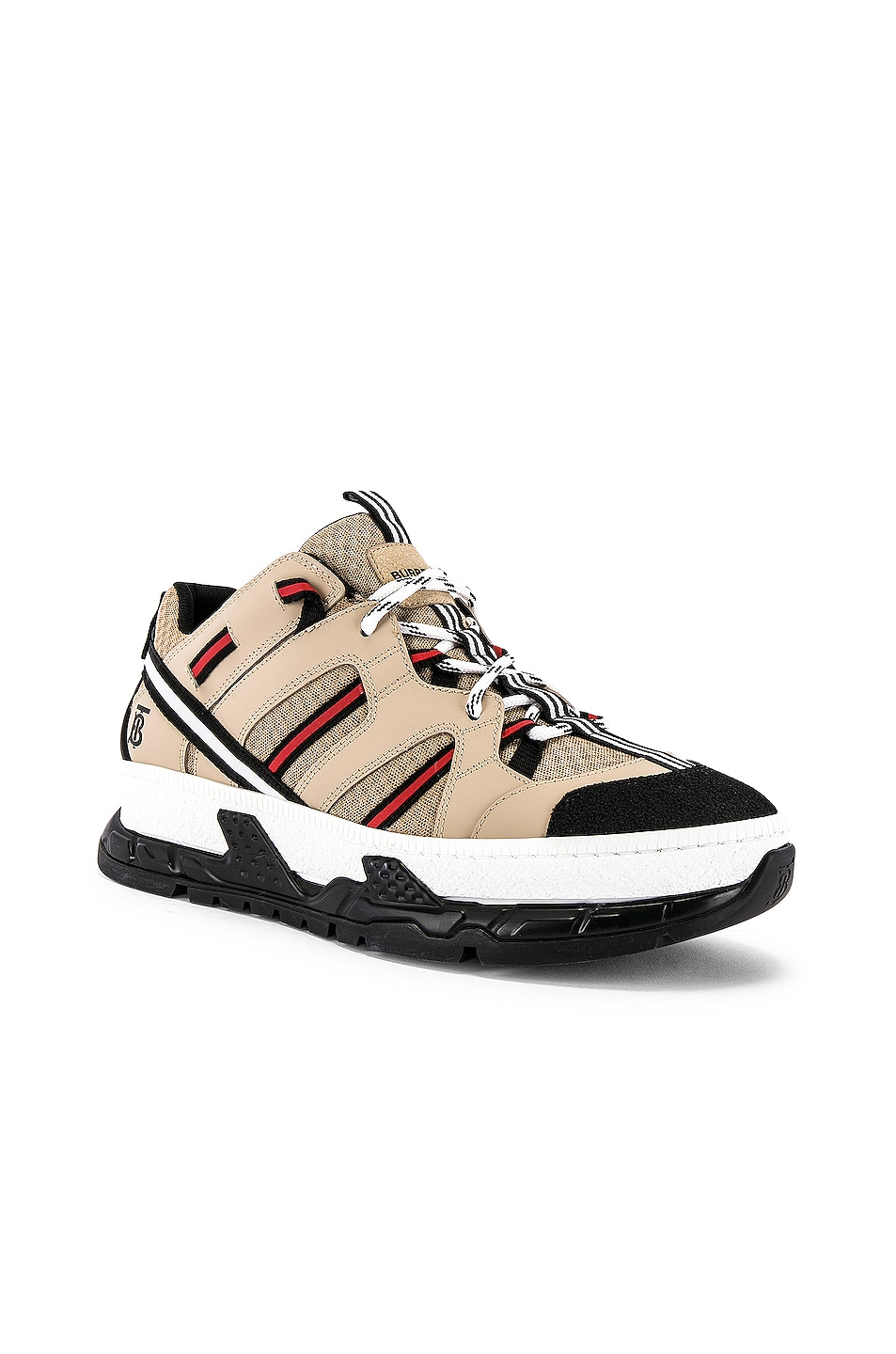 Image 1 of Burberry Union Sneaker in Beige