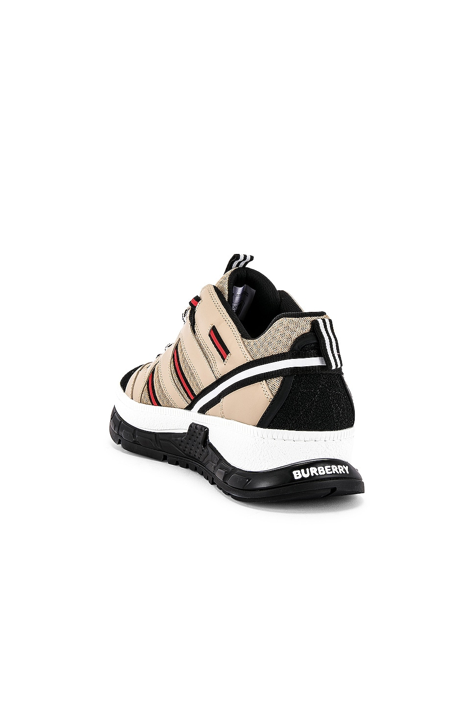 Image 3 of Burberry Union Sneaker in Beige