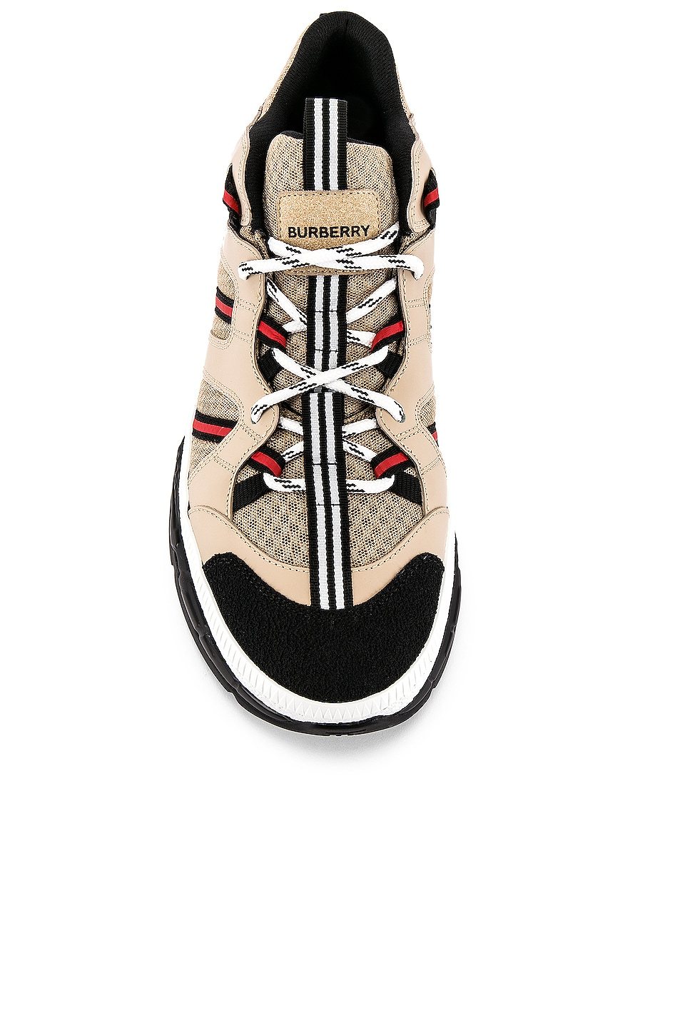Image 4 of Burberry Union Sneaker in Beige
