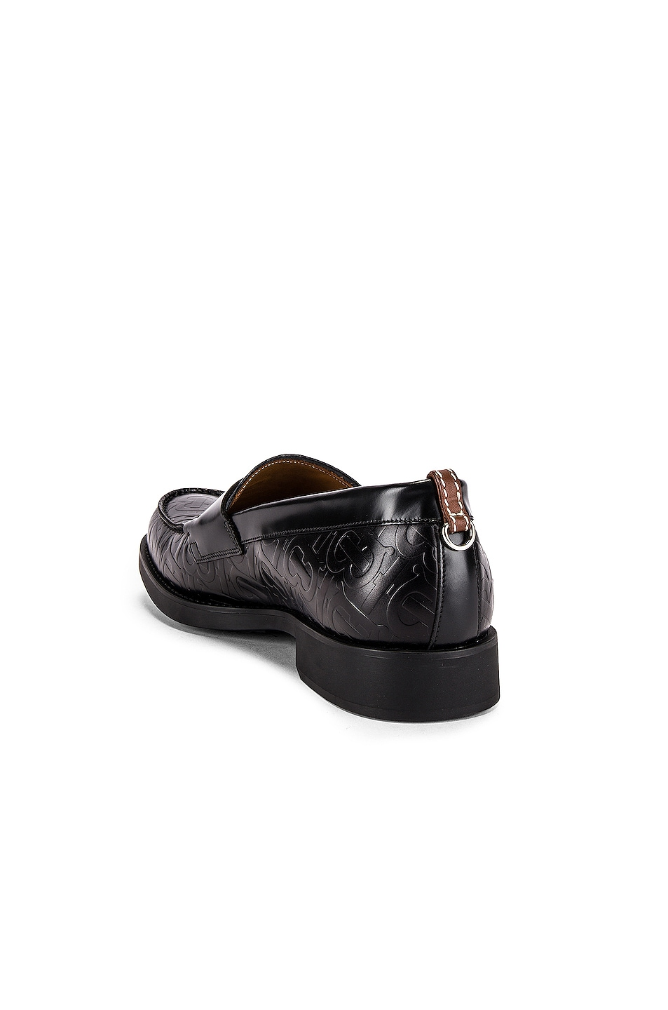 Image 3 of Burberry Emilie Loafers in Black
