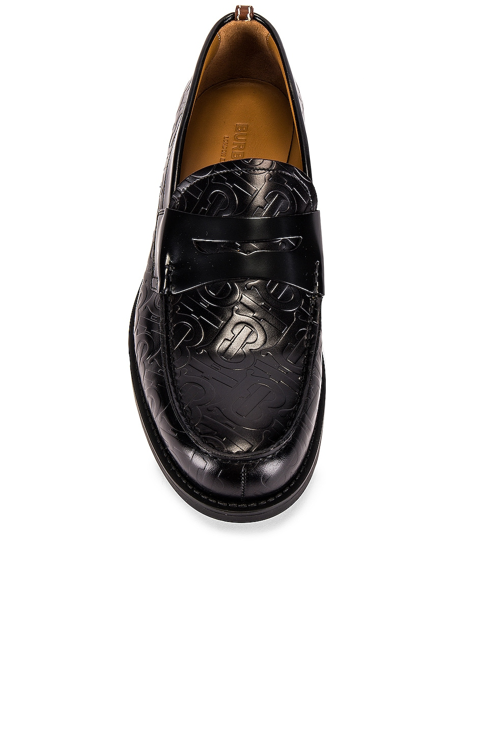 Image 4 of Burberry Emilie Loafers in Black