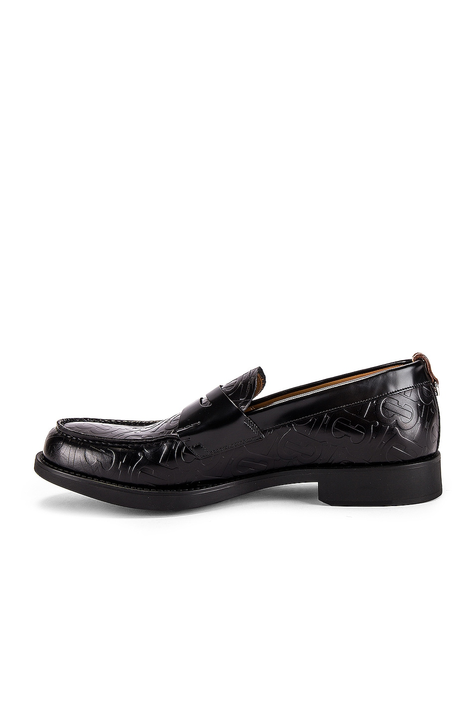 Image 5 of Burberry Emilie Loafers in Black