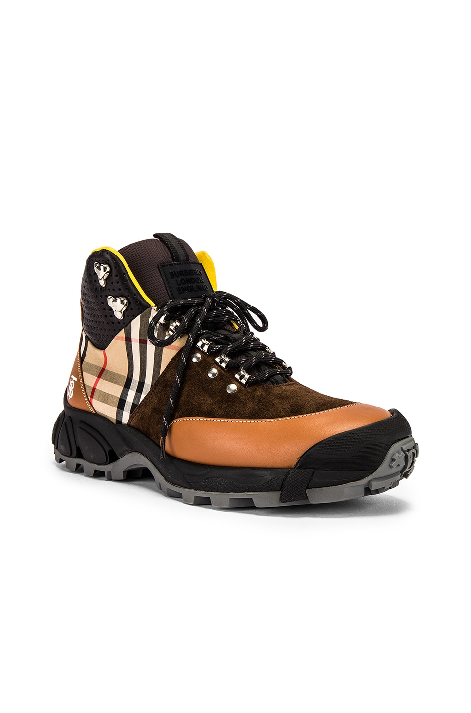 Image 1 of Burberry Tor M Hiking Boot in Archive Beige