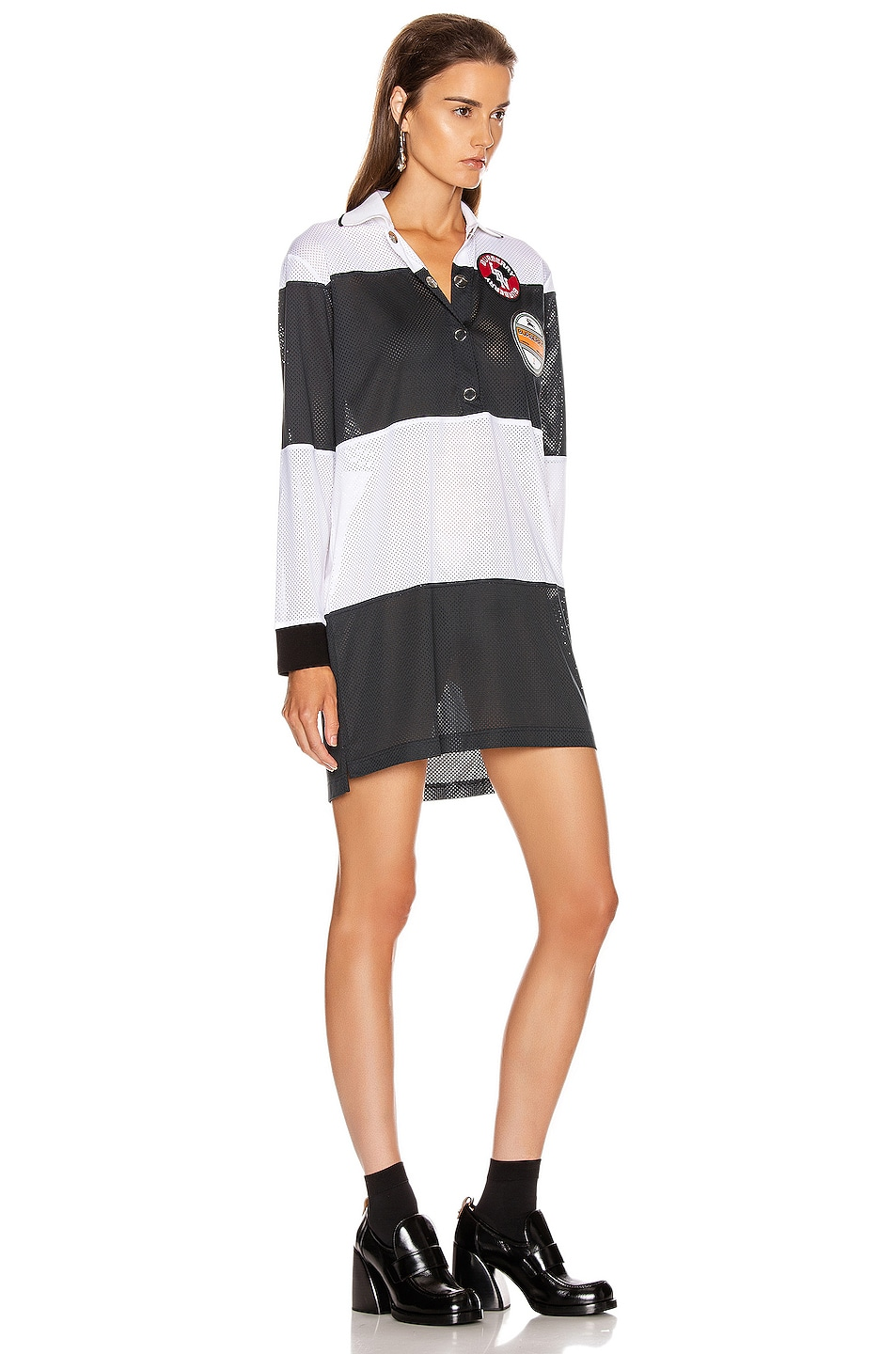 Image 2 of Burberry Polo Dress in Black