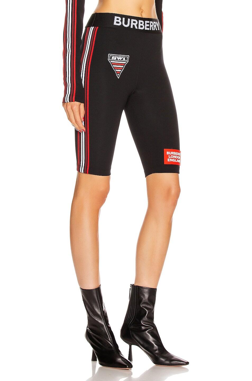 Image 3 of Burberry Sesia Biker Short in Black
