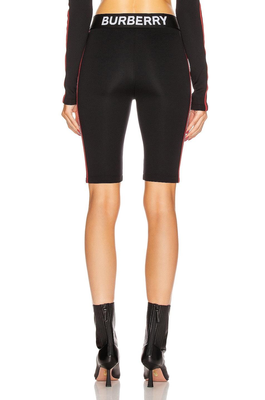 Image 5 of Burberry Sesia Biker Short in Black