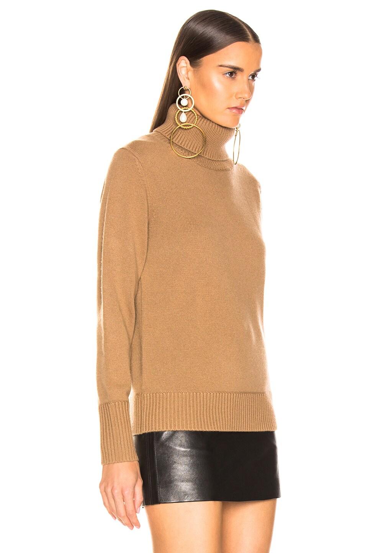 Image 2 of Burberry Lockeridge Sweater in Camel