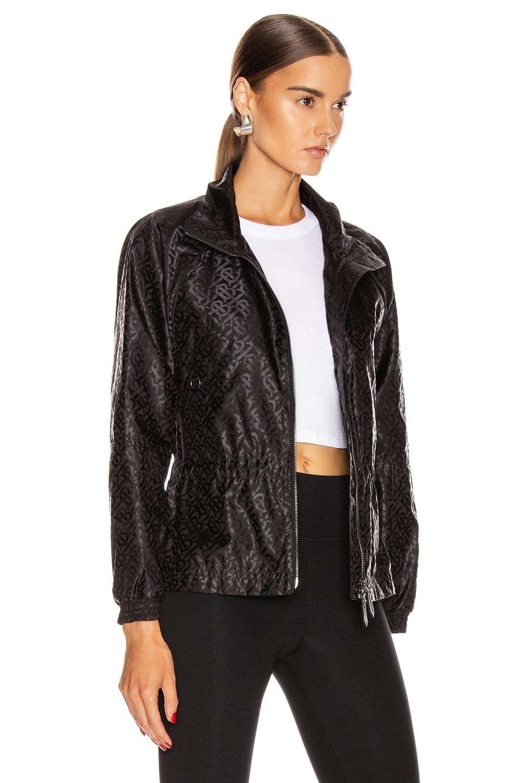Image 3 of Burberry Nylon Jacket in Black