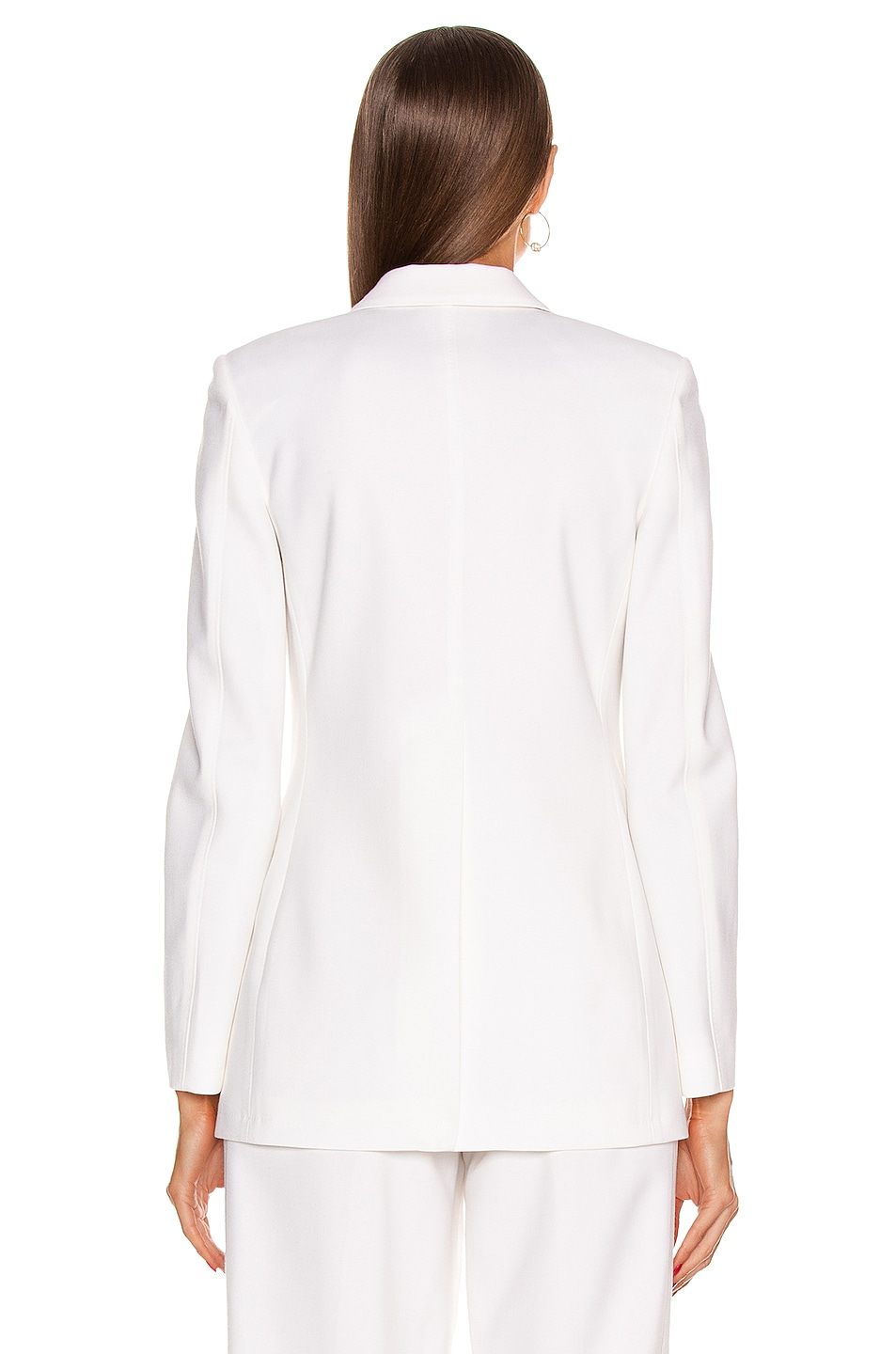 Image 3 of Burberry Sidon Tailored Blazer in Optic White