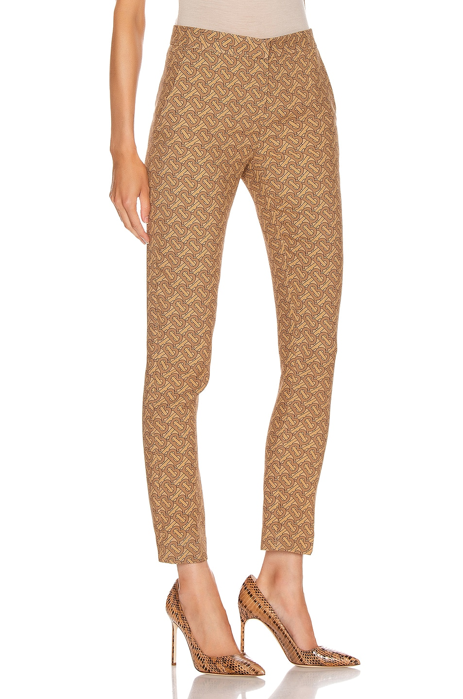 Image 2 of Burberry Hanover Pant in Tawny