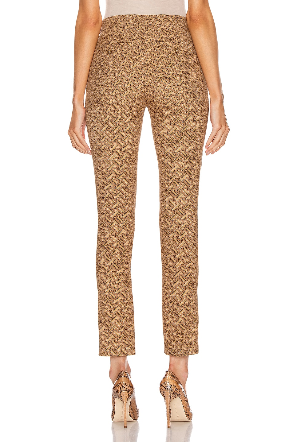 Image 3 of Burberry Hanover Pant in Tawny