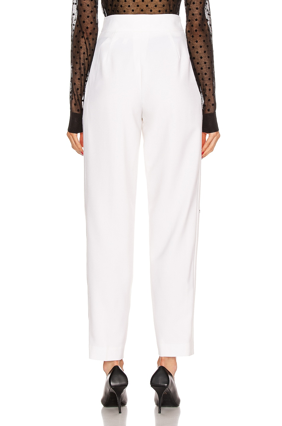 Image 4 of Burberry Marleigh Pant in Optic White
