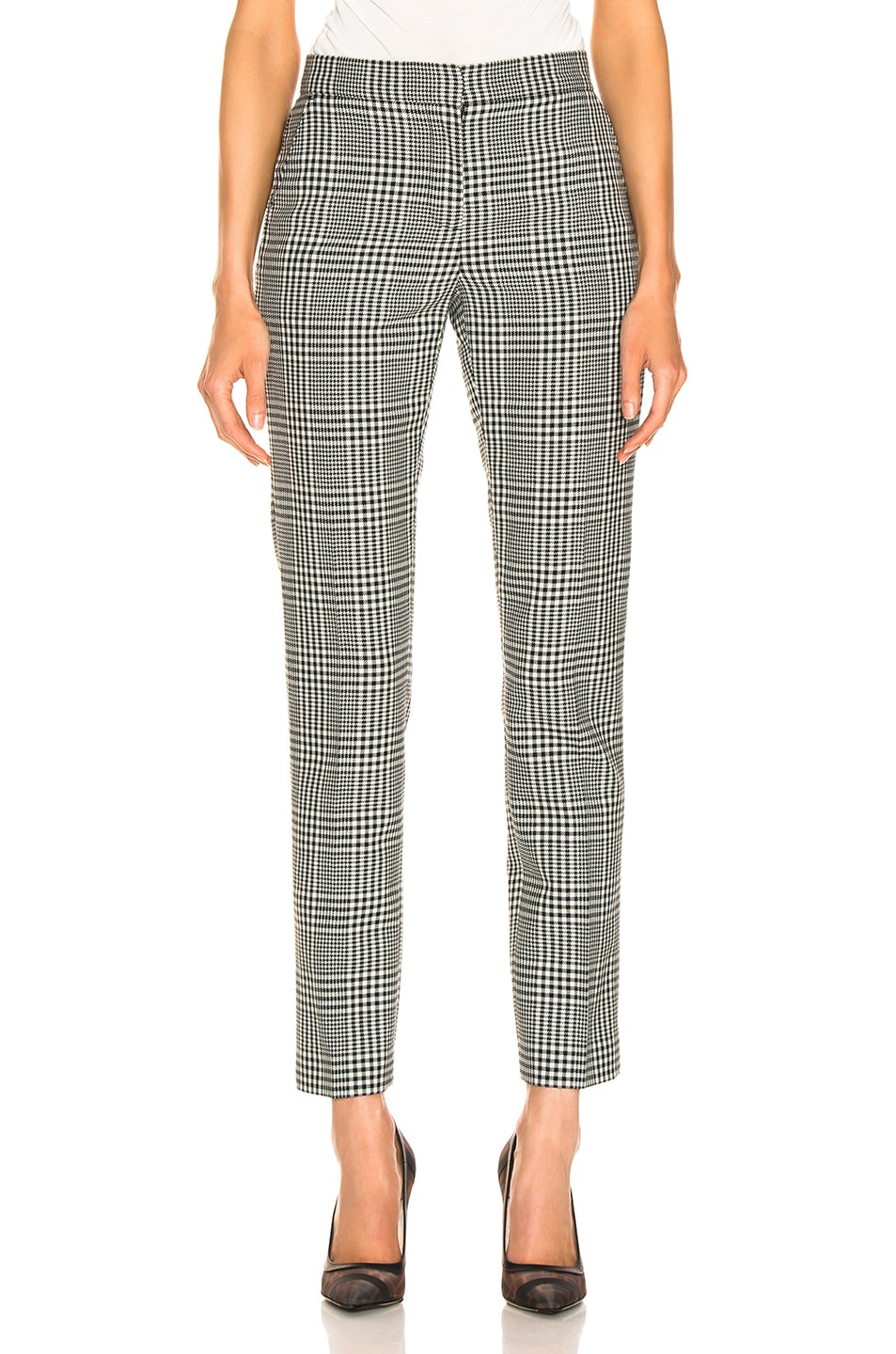 Image 1 of Burberry Hanover Pant in Mist Green Chalk