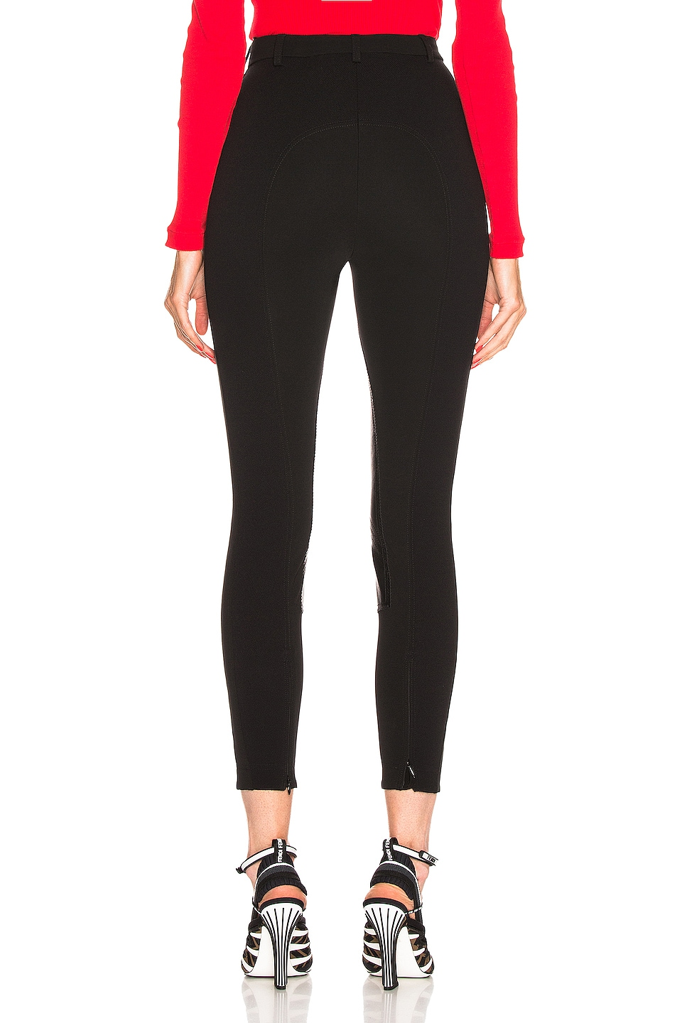 Image 3 of Burberry High Waisted Legging in Black