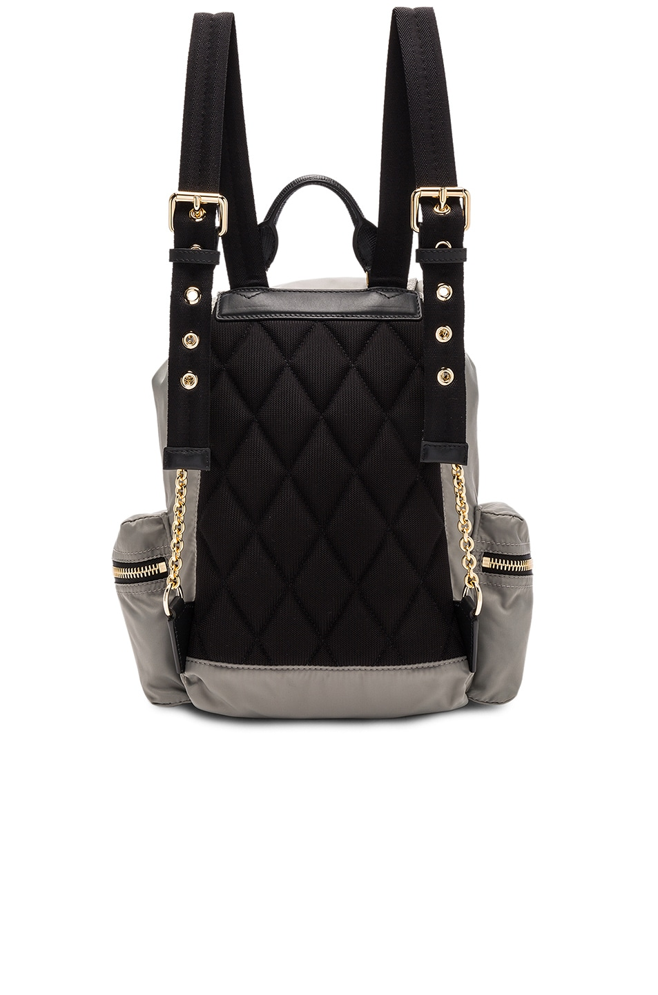 Image 2 of Burberry Medium Rucksack in Thistle Grey
