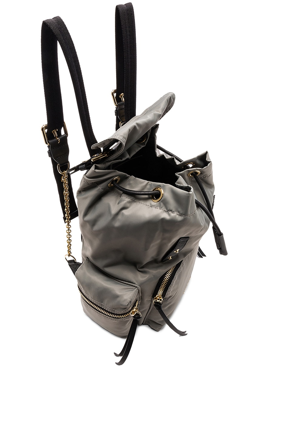 Image 4 of Burberry Medium Rucksack in Thistle Grey