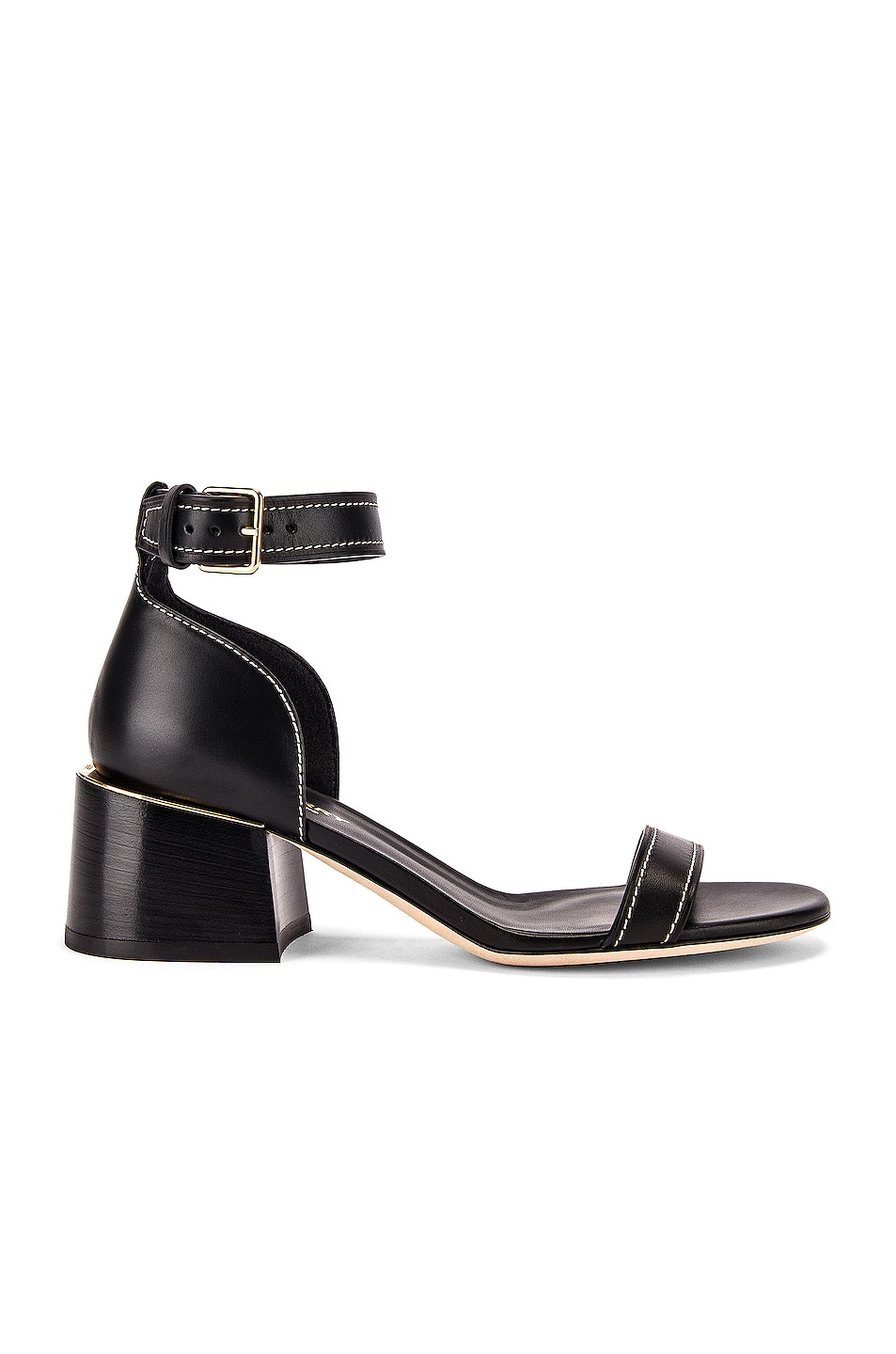 Image 1 of Burberry Attenby Sandals in Black