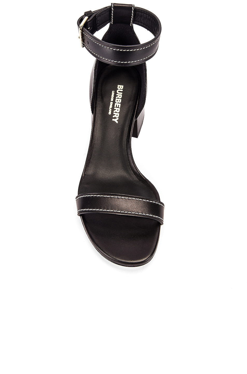 Image 4 of Burberry Attenby Sandals in Black