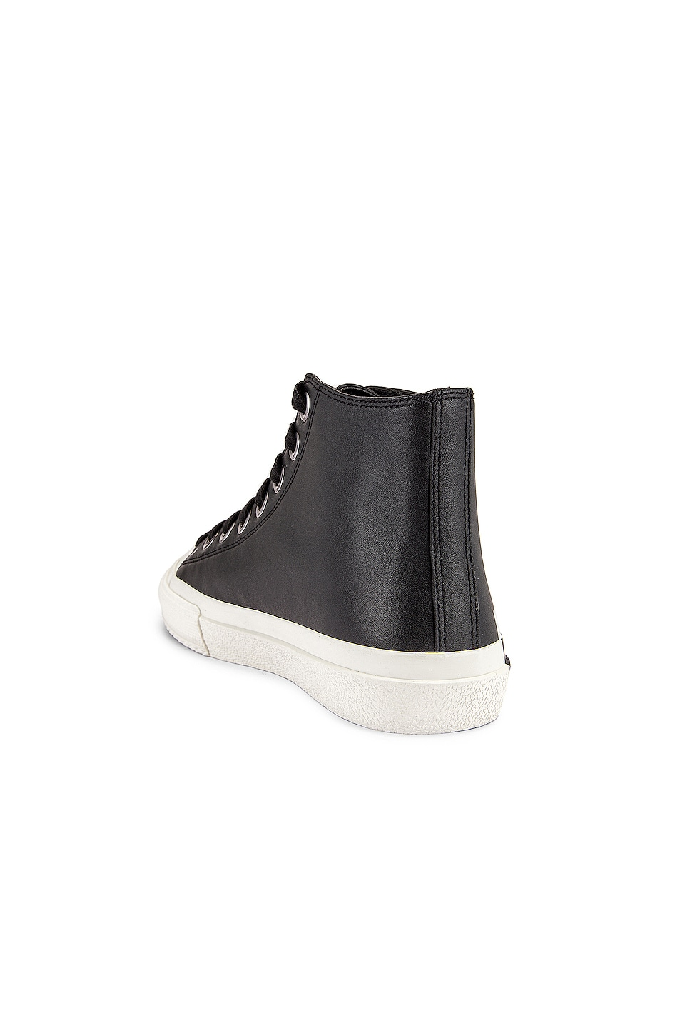 Image 3 of Burberry Larkhall Logo High Top Sneakers in Black
