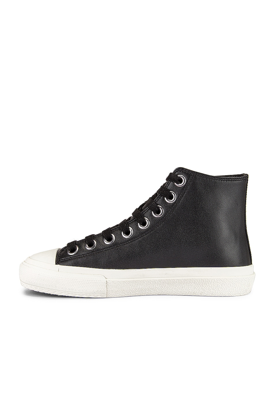 Image 5 of Burberry Larkhall Logo High Top Sneakers in Black