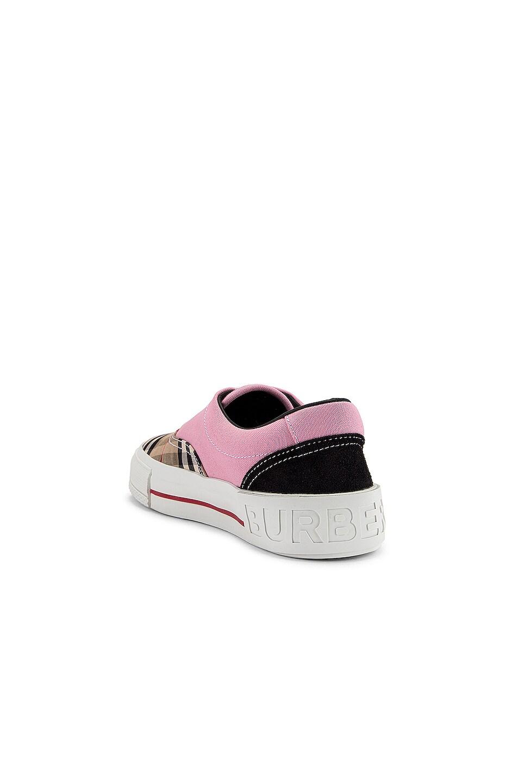 Image 3 of Burberry Skate Low Top Sneakers in Pink