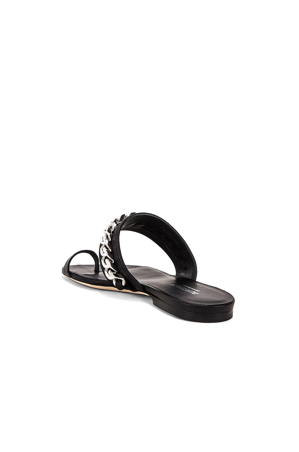 Image 3 of Burberry Heidi Chain Sandals in Black
