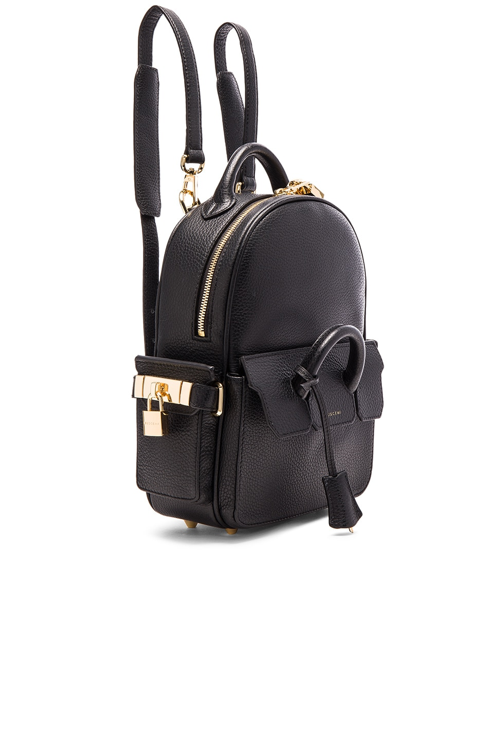 Image 3 Of Buscemi Mini Phd Bag In Black