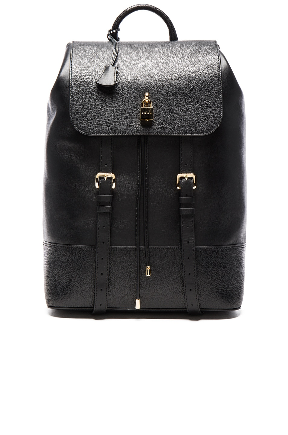 BUSCEMI Leather And Canvas Backpack Free Shipping Low Shipping Fee Sq5s8
