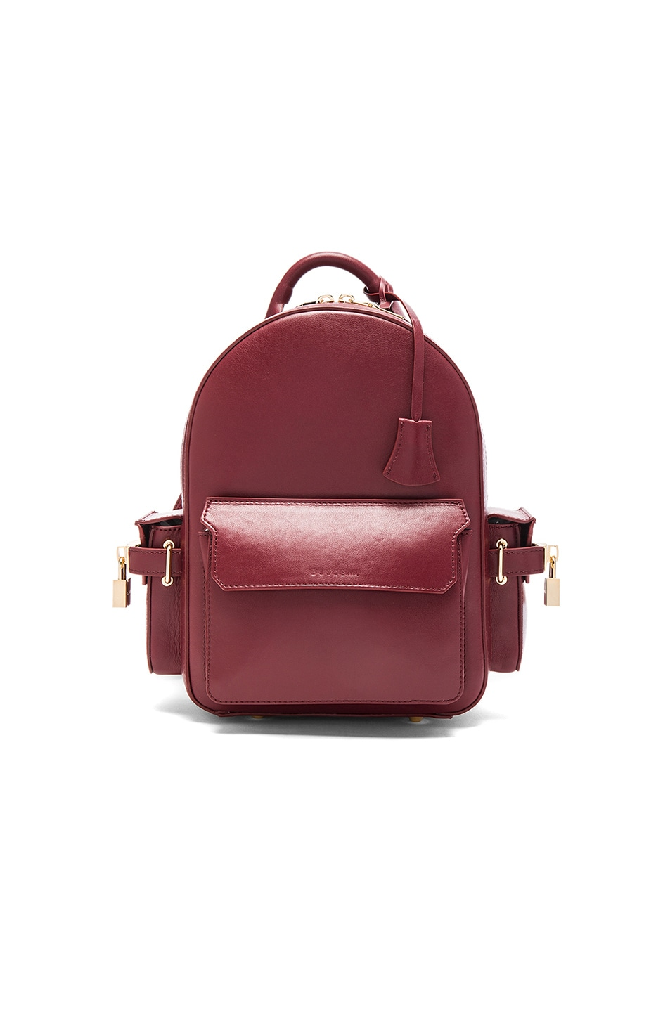 Image 1 of Buscemi Mini PHD Backpack in Bordeaux