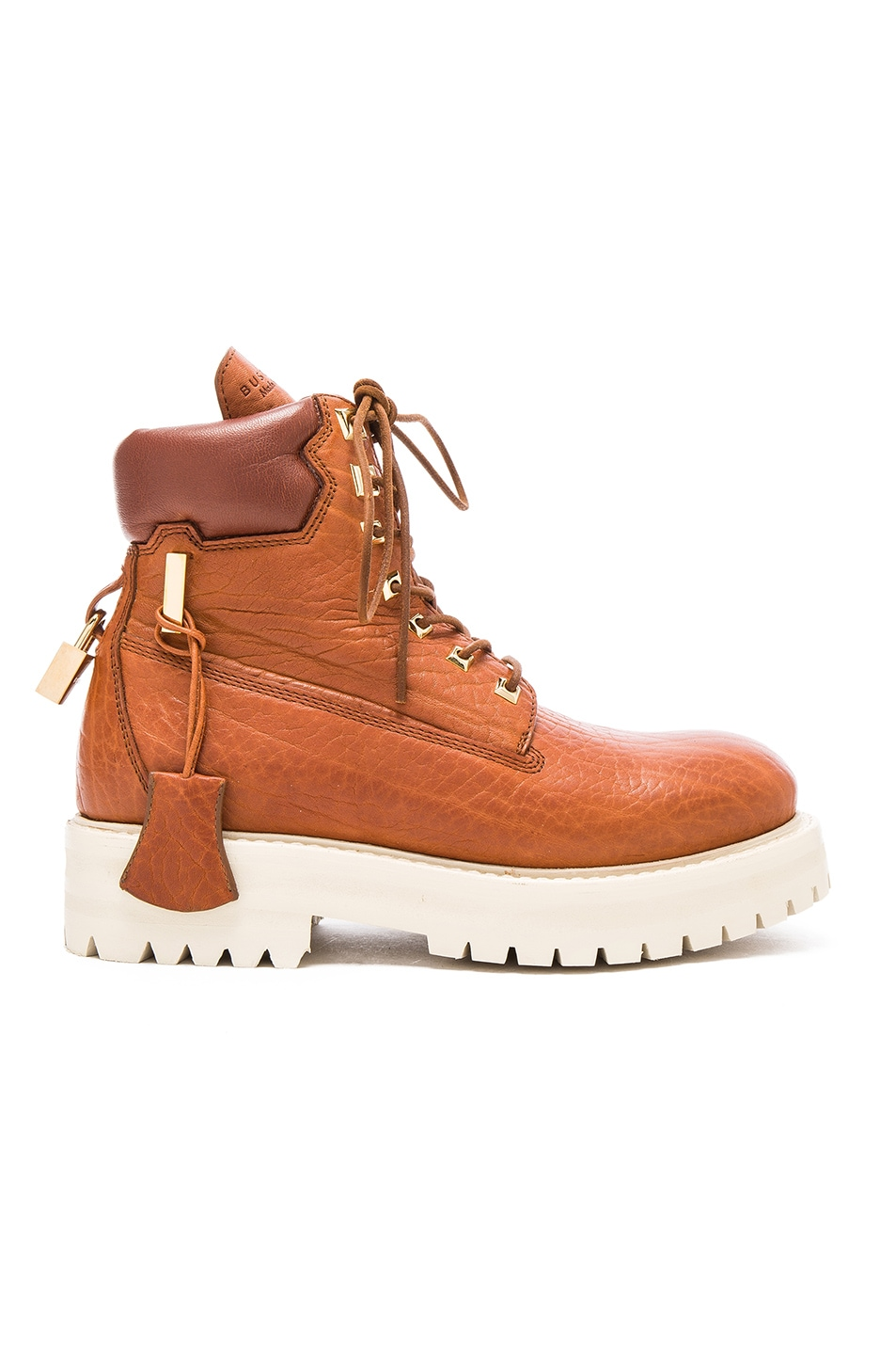 Image 1 of Buscemi Leather Site Boots in Whiskey