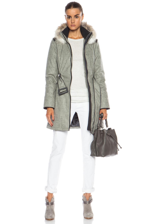 canada goose wool jacket