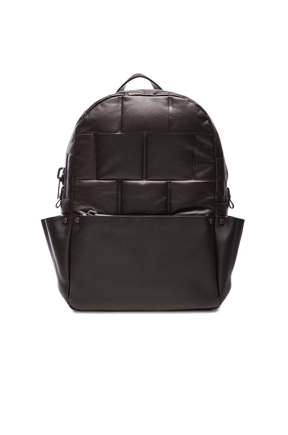 Image 1 of Calvin Klein Collection Bowery Utility Backpack in Black