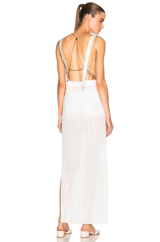 Calvin Klein Collection Gavis Evening Dress in Off White | FWRD