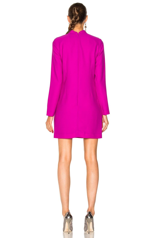 Carven Long Sleeve Dress in Fuchsia | FWRD