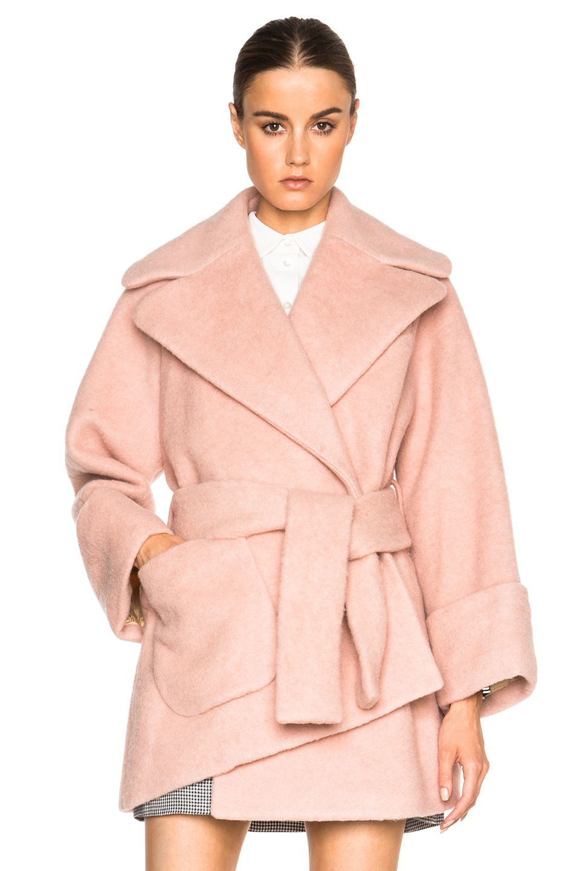 Carven Coat Pink | Down Coat
