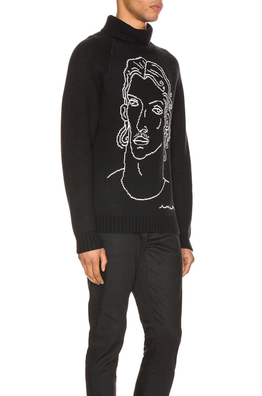 Image 2 of Casablanca Sid Sweater in Black