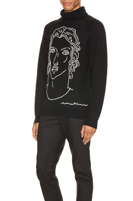 Image 3 of Casablanca Sid Sweater in Black
