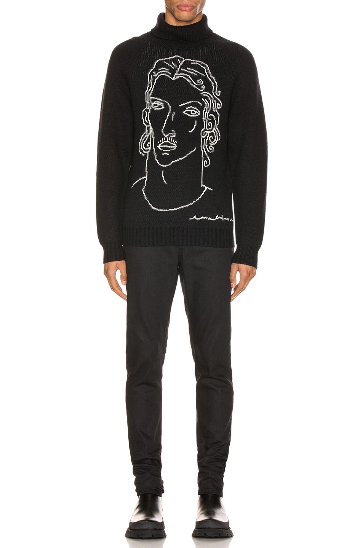 Image 5 of Casablanca Sid Sweater in Black