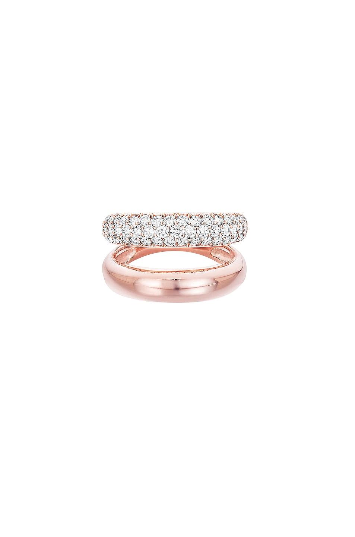 Image 1 of Carbon & Hyde Gemini Ring in 14K Rose Gold